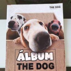 Coleccionismo Álbum: ALBUM CROMOS PERROS THE DOG SNACKS MATUTANO CHEETOS CHIPICAO ARTLIST COLLECTION. Lote 136296010