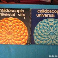 Coleccionismo Álbum: CALIDOSCOPIO UNIVERSAL VITA I Y II. Lote 210355425