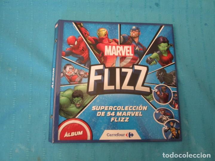 MARVEL FLIZZ (Coleccionismo - Cromos y Álbumes - Álbumes Completos)