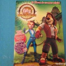 Coleccionismo Álbum: MAX ADVENTUES IMAX. Lote 210356708