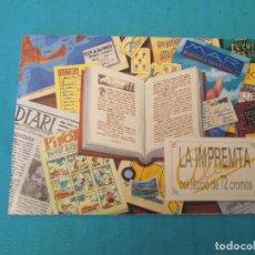 Coleccionismo Álbum: LA IMPRENTA. Lote 210357678