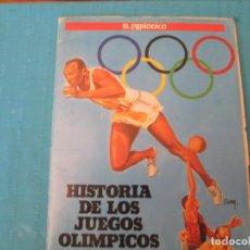Coleccionismo Álbum: HISTORIA DE LOS JUEGOS OLIMPICOS EL PERIODICO. Lote 210360848