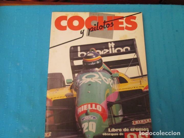 COCHES Y PILOTOS-MOTOS Y PILOTOS AS (Coleccionismo - Cromos y Álbumes - Álbumes Completos)