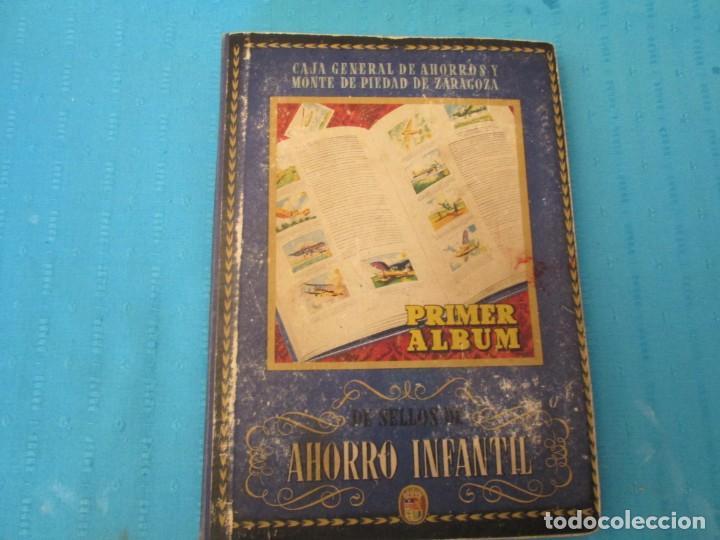 SELLOS DEL AHORRO INFANTIL (Coleccionismo - Cromos y Álbumes - Álbumes Completos)