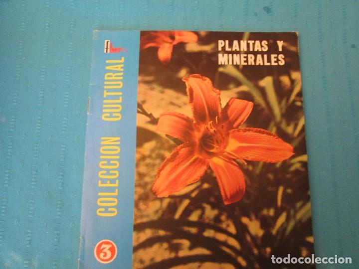 PLANTAS Y MINERALES FHER (Coleccionismo - Cromos y Álbumes - Álbumes Completos)