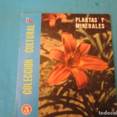 Coleccionismo Álbum: PLANTAS Y MINERALES FHER. Lote 210363535