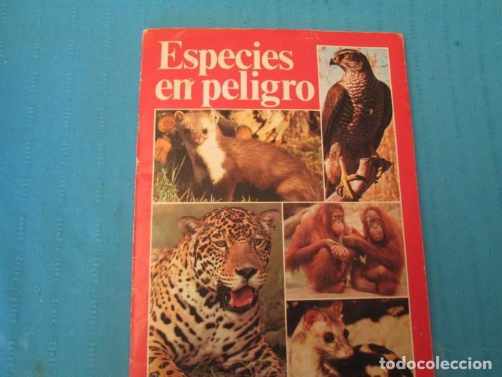 ESPECIES EN PELIGRO URBION (Coleccionismo - Cromos y Álbumes - Álbumes Completos)