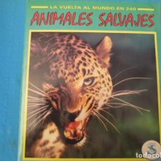 Collectionnisme Album: ANIMALES SALVAJES. Lote 210367258