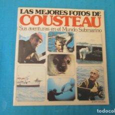 Coleccionismo Álbum: LAS MEJORES FOTOS DE COUSTEAU. Lote 210368136