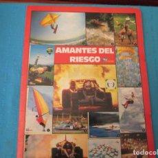 Collectionnisme Album: CARPETA AMANTES DEL RIESGO. Lote 210369463