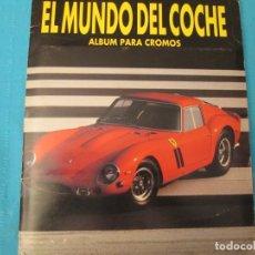 Collectionnisme Album: EL MUNDO DEL COCHE. Lote 210389680