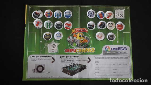 Coleccionismo Álbum: ALBUM DE GREFUSA GREFUCHAPAS COMPLETO - Foto 4 - 210395385