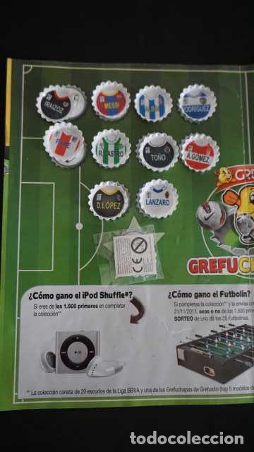 Coleccionismo Álbum: ALBUM DE GREFUSA GREFUCHAPAS COMPLETO - Foto 5 - 210395385