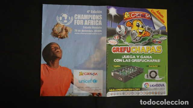 Coleccionismo Álbum: ALBUM DE GREFUSA GREFUCHAPAS COMPLETO - Foto 7 - 210395385
