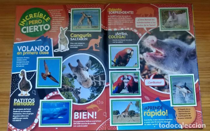 Coleccionismo Álbum: Álbum completo Animales National Geographic kids de topps - Foto 3 - 210404040