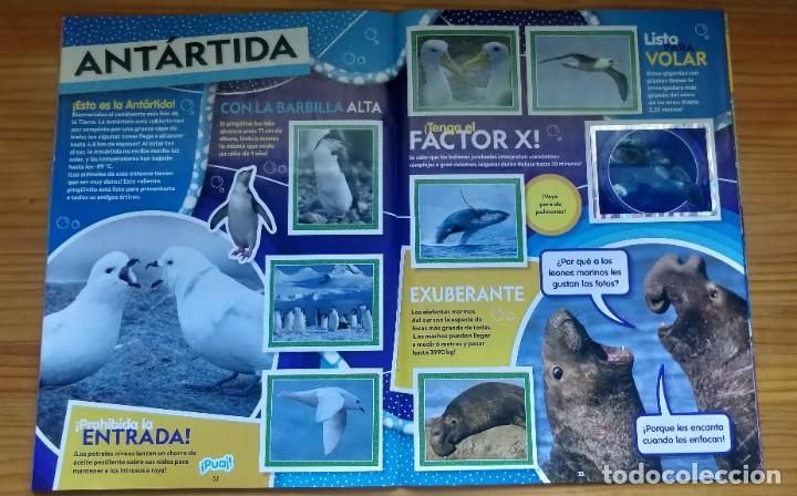 Coleccionismo Álbum: Álbum completo Animales National Geographic kids de topps - Foto 5 - 210404040