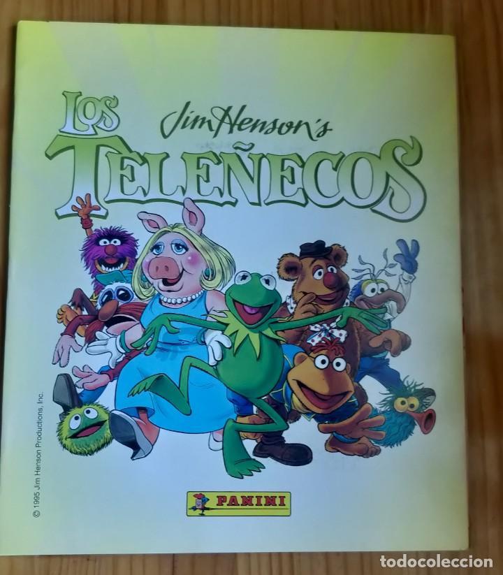 ÁLBUM COMPLETO DE LOS TELEÑECOS (Coleccionismo - Cromos y Álbumes - Álbumes Completos)
