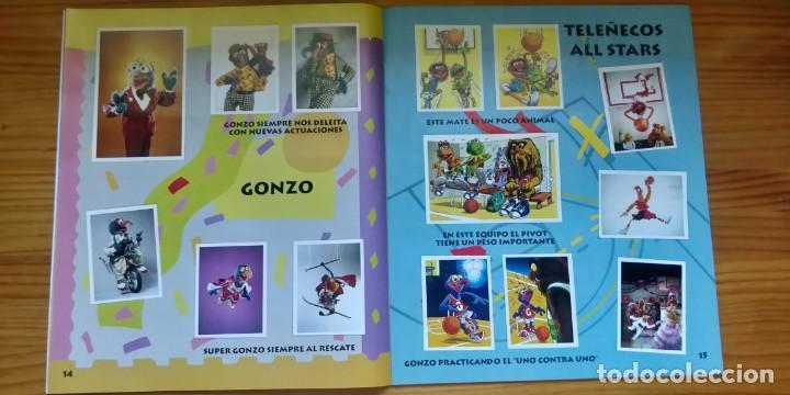 Coleccionismo Álbum: Álbum completo de Los Teleñecos - Foto 2 - 210405322
