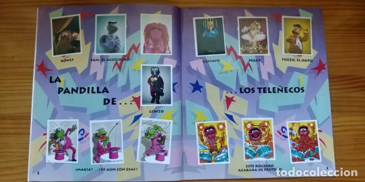Coleccionismo Álbum: Álbum completo de Los Teleñecos - Foto 3 - 210405322