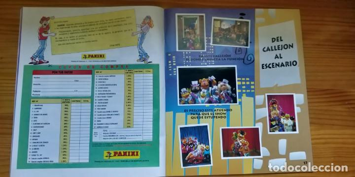 Coleccionismo Álbum: Álbum completo de Los Teleñecos - Foto 4 - 210405322