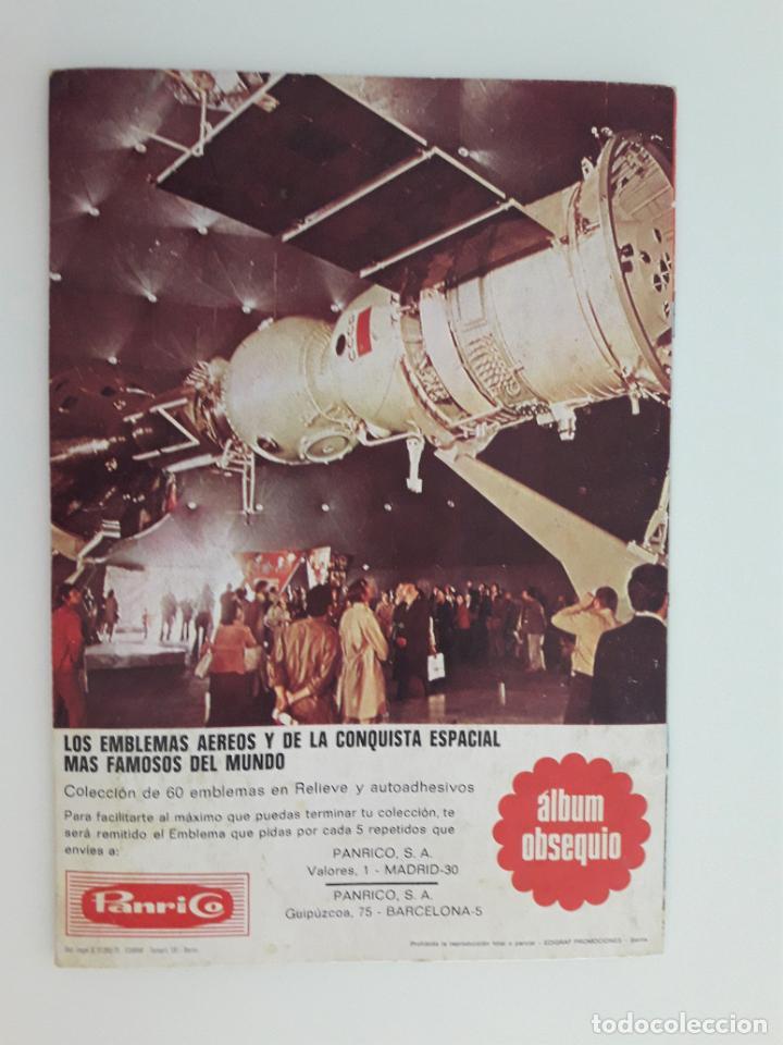 Coleccionismo Álbum: EMBLEMAS AEREOS Y DE LA CONQUISTA ESPACIAL - ALBUM COMPLETO - Foto 2 - 210592548