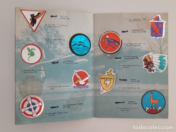 Coleccionismo Álbum: EMBLEMAS AEREOS Y DE LA CONQUISTA ESPACIAL - ALBUM COMPLETO - Foto 5 - 210592548