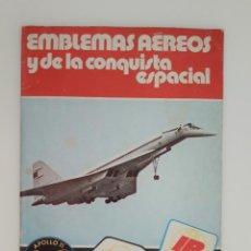 Coleccionismo Álbum: EMBLEMAS AEREOS Y DE LA CONQUISTA ESPACIAL - ALBUM COMPLETO. Lote 210592548