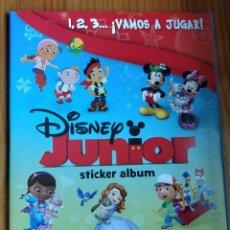 Coleccionismo Álbum: ÁLBUM COMPLETO DE DISNEY JUNIOR DE PANINI. Lote 210643269