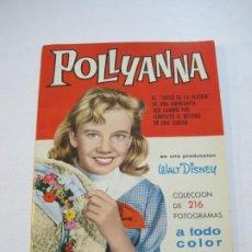 Coleccionismo Álbum: POLLYANA-DISNEY-ALBUM COMPLETO CON LOS CROMOS SIN PEGAR-EDITORIAL BRUGUERA-VER FOTOS-(V-21.183). Lote 210964765