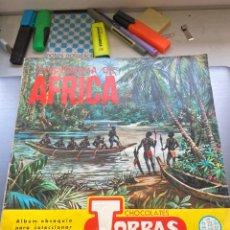 Coleccionismo Álbum: ÁLBUM COSMORAMA DE AFRICA. Lote 210988847