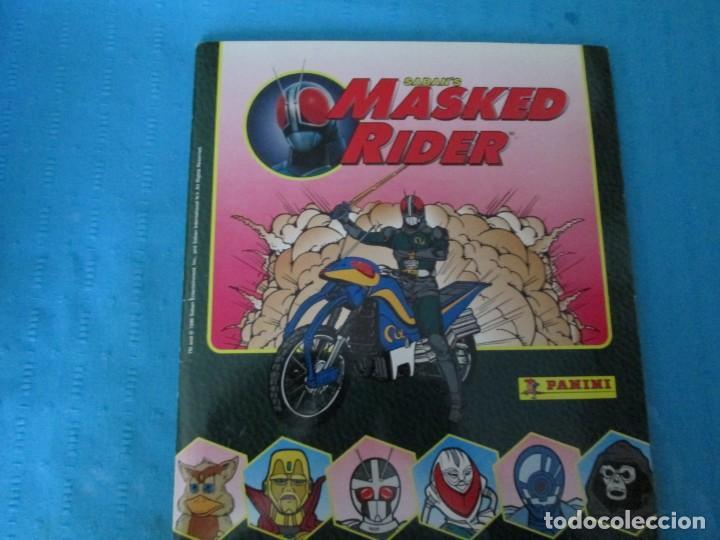 MASKED RIDER (Coleccionismo - Cromos y Álbumes - Álbumes Completos)