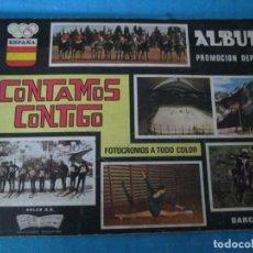 Coleccionismo Álbum: CONTAMOS CONTIGO COLED DEPORTES 1968. Lote 211484662
