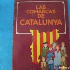 Coleccionismo Álbum: LAS COMARCAS DE CATALUÑA. Lote 211553149