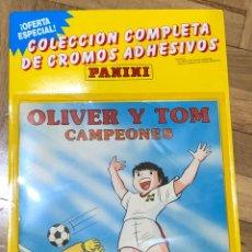 Coleccionismo Álbum: COLECCIÓN COMPLETA OLIVER Y TOM. (ALBUM + CROMOS SIN PEGAR). PANINI. FUTBOL. OLIVER Y BENJI. Lote 211628420