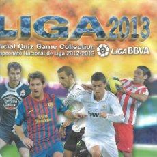 Coleccionismo Álbum: ALBUM DE LAS FICHAS DE LA LIGA 2013 MUNDICROMO COMPLETO 708 FICHAS DEL Nº 1 AL 666 ESTADO PERFECTO. Lote 211906340