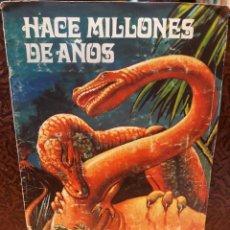 Coleccionismo Álbum: HACE MILLONES DE AÑOS, ALBUM COMPLETO, CHOCOLATES TORRA. Lote 211985275