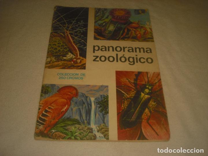 PANORAMA ZOOLOGICO . COLECCION DE 250 CROMOS COMPLETO CON RECORTABLES (Coleccionismo - Cromos y Álbumes - Álbumes Completos)