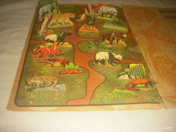 Coleccionismo Álbum: PANORAMA ZOOLOGICO . COLECCION DE 250 CROMOS COMPLETO CON RECORTABLES - Foto 2 - 212202002