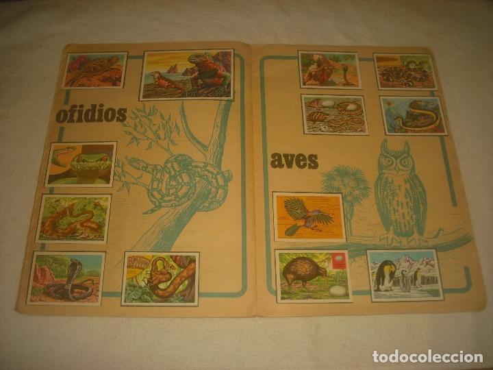 Coleccionismo Álbum: PANORAMA ZOOLOGICO . COLECCION DE 250 CROMOS COMPLETO CON RECORTABLES - Foto 6 - 212202002