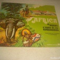 Colecionismo Caderneta: AFRICA, EL MUNDO A TRAVES DE SUS CONTINENTES . COMPLETO. Lote 212292143