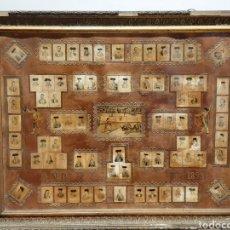 Coleccionismo Álbum: TAUROMAQUIA. 75 FOTOTIPIAS DE TOREROS. AÑO 1899.. Lote 213350460