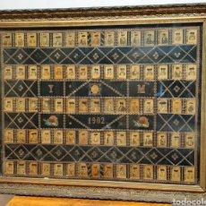 Coleccionismo Álbum: TAUROMAQUIA, 75 FOTOTIPIAS. SERIE 14. AÑO 1902. CON SU MARCO.. Lote 213352322