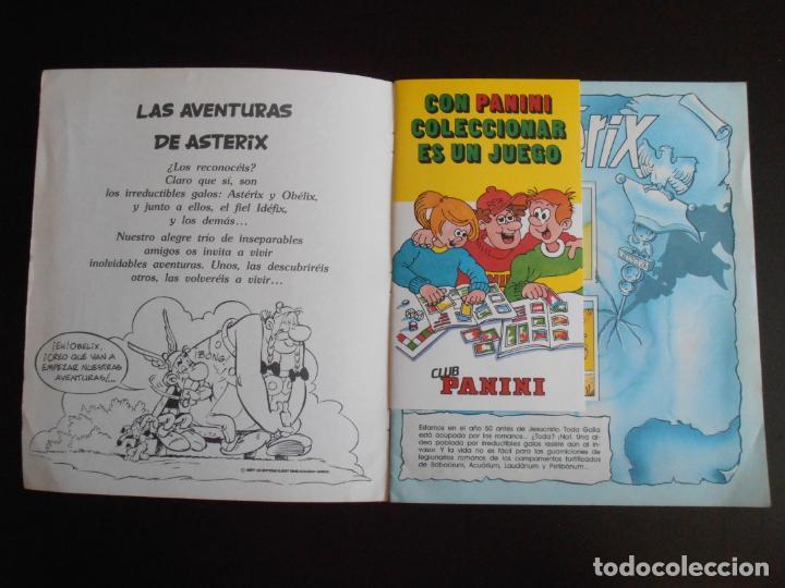 Coleccionismo Álbum: ALBUM DE CROMOS, ASTERIX GOSCINY UDERZO, 1987, COMPLETO, PANINI - Foto 2 - 213572770