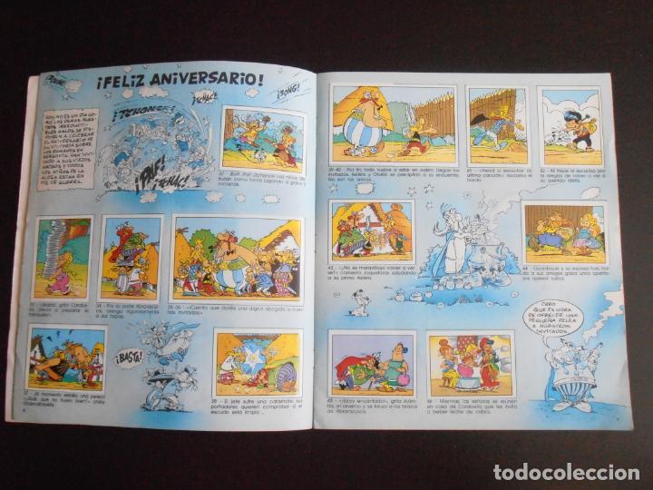 Coleccionismo Álbum: ALBUM DE CROMOS, ASTERIX GOSCINY UDERZO, 1987, COMPLETO, PANINI - Foto 3 - 213572770