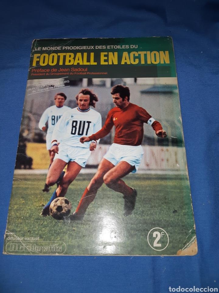 ANTIGUO ÁLBUM DE FÚTBOL DE FRANCIA AÑO 1971 - COMPLETO (Coleccionismo - Cromos y Álbumes - Álbumes Completos)