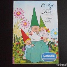 Coleccionismo Álbum: ALBUM DE CROMOS, EL LIBRO DE LISA, DAVID EL GNOMO, 1985, COMPLETO, DANONE. Lote 213813856
