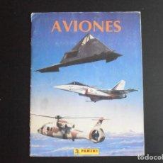 Coleccionismo Álbum: ALBUM DE CROMOS, AVIONES, 1993, COMPLETO, PANINI. Lote 213814282