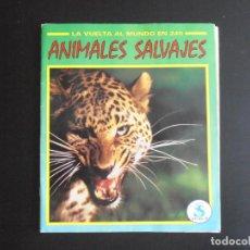 Coleccionismo Álbum: ALBUM DE CROMOS, ANIMALES SALVAJES, COMPLETO. Lote 213814682