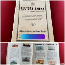 Coleccionismo Álbum: ÁLBUM CULTURA AMENA - TOMO II - CAJA DE AHORROS DEL PENEDÈS - 111 CROMOS-EXCELENTE ESTADO COMPLETO. Lote 213964386