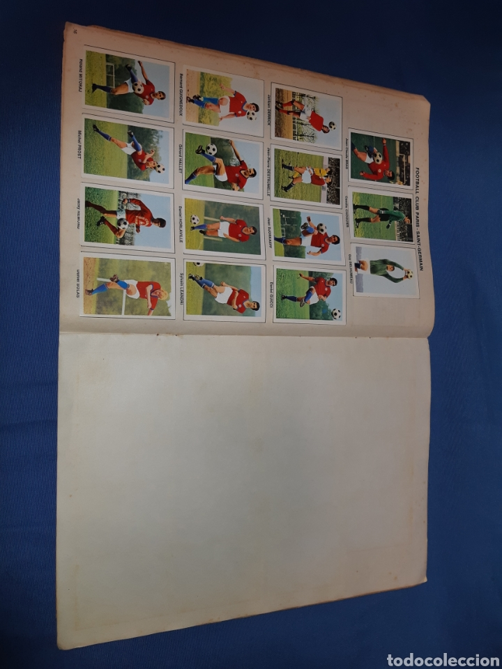 Coleccionismo Álbum: Antiguo álbum de fútbol de francia año 1971 - completo - Foto 9 - 213799913